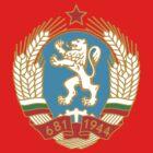 Socialist Bulgaria Emblem by charlieshim