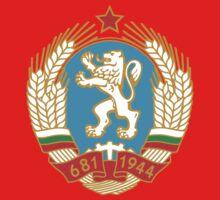 Socialist Bulgaria Emblem Kids Tee