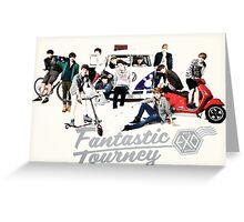 EXO PRINT Greeting Card