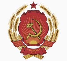 Socialist Ukraine Emblem Kids Clothes