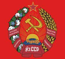 Socialist Uzbekistan Emblem One Piece - Long Sleeve