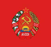 Socialist Uzbekistan Emblem Unisex T-Shirt