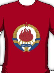Socialist Yugoslavia Emblem T-Shirt
