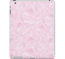 Floral pattern with peonies iPad Case/Skin