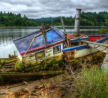 Are We Ready To Ship-out? by Charles & Patricia   Harkins ~ Picture Oregon