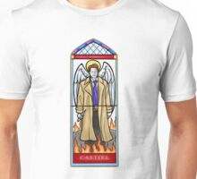Castiel Stained Glass Unisex T-Shirt