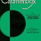 CHATTERBOX (vintage illustration) by ART INSPIRED BY MUSIC