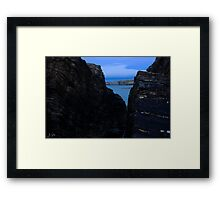Rocky Outlet, Talmine, Highlands Framed Print