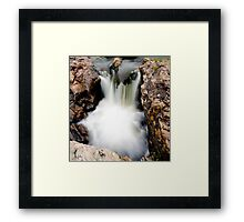 Applecross Waterfall, Highlands Framed Print