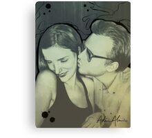 Vintage Couple Canvas Print