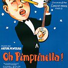 OH PIMPRINELLA (vintage illustration) by ART INSPIRED BY MUSIC