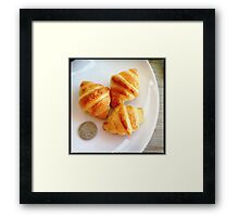 So Tiny, Yet So Delicious Framed Print
