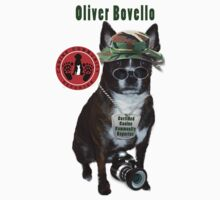 Oliver Bovello, Canine Community Reporter-Travel One Piece - Short Sleeve