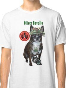 Oliver Bovello, Canine Community Reporter-Travel Classic T-Shirt