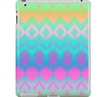 Rainbow Ikat Pattern iPad Case/Skin