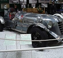 "1927 Bentley Jackson Special Racer - ""Old Mother Gun"" by Edward Denyer"