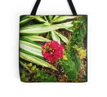 Bougain-Stalk Tote Bag