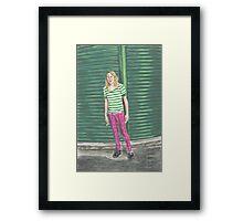 Ariel Pink: Hot Pink! Framed Print
