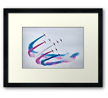 In Perfect Formation Framed Print