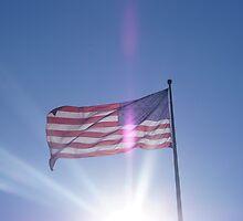 US Flag by Pedro de Sa
