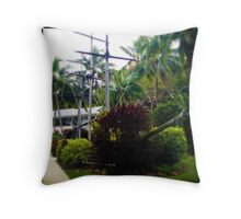 Pirate Vessel Throw Pillow