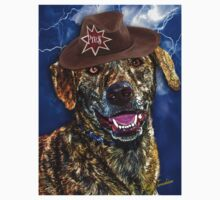 A Canine Community Reporter Fine Art Creation Kids Clothes