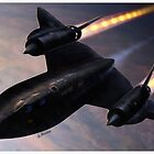 Lockheed SR 71 Blackbird by A. Hermann
