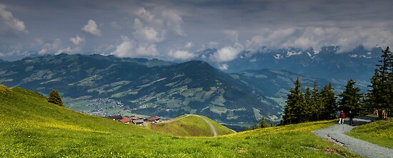 Tyrolean Panorama by Nigel Jones