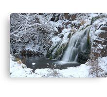 Warner Falls, near Palmer, Michigan Canvas Print