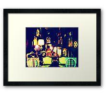 Low Light Room Framed Print