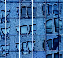 Windows and Reflections No.053 by Randall Nyhof