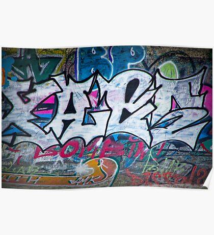 Graffiti in Edmonton No. 1125 Poster