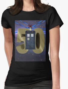 50 Years!! Womens Fitted T-Shirt