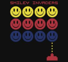 Smiley Invaders  by GregWR