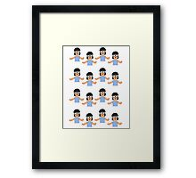 Confused Tina Framed Print
