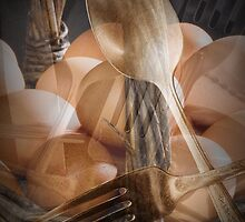 Breakfast Dream abstract image by Randall Nyhof
