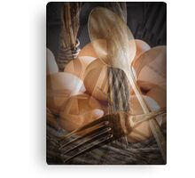 Breakfast Dream abstract image Canvas Print