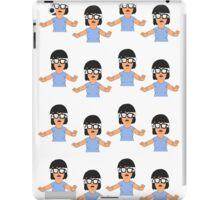Confused Tina iPad Case/Skin