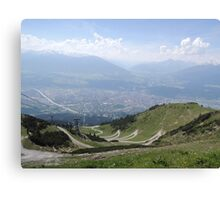 The Path: Innsbruck Canvas Print