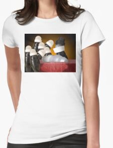 anatomical lesson Womens Fitted T-Shirt