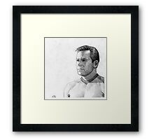 Captain James T. Kirk Framed Print