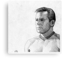 Captain James T. Kirk Canvas Print
