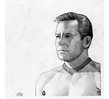 Captain James T. Kirk Photographic Print