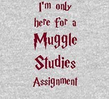 I'm only here for a Muggle Studies Assignment Unisex T-Shirt