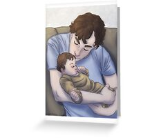 Parent!lock Greeting Card