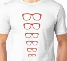 Rosie Floral Glasses Unisex T-Shirt