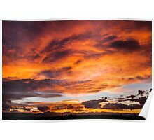 Whirlpool Sunset Poster