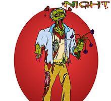 Happy Zombie Valentines day by Skree