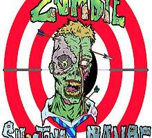Zombie Shooting Range Logo by Skree