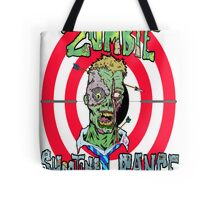 Zombie Shooting Range Logo Tote Bag